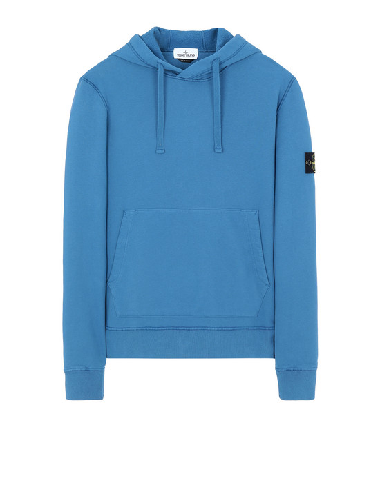 STONE ISLAND 64120 Sweatshirt Man Periwinkle