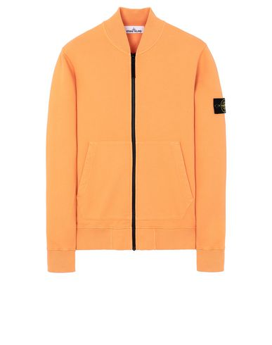 STONE ISLAND 60220 Sweatshirt Man Orange EUR 182