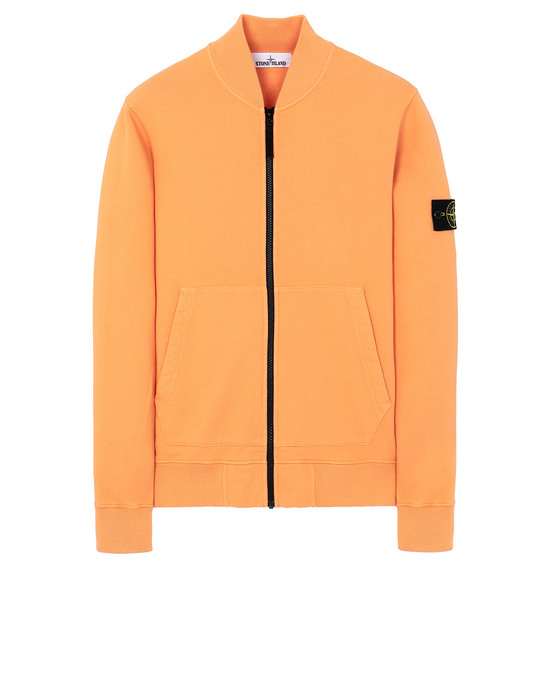 STONE ISLAND 60220 Sweatshirt Man Orange