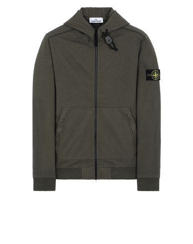 STONE ISLAND 61150 Sweatshirt Man Musk Green USD 246