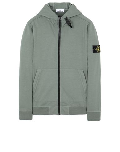 STONE ISLAND 61150 Sweatshirt Man Sage Green USD 338