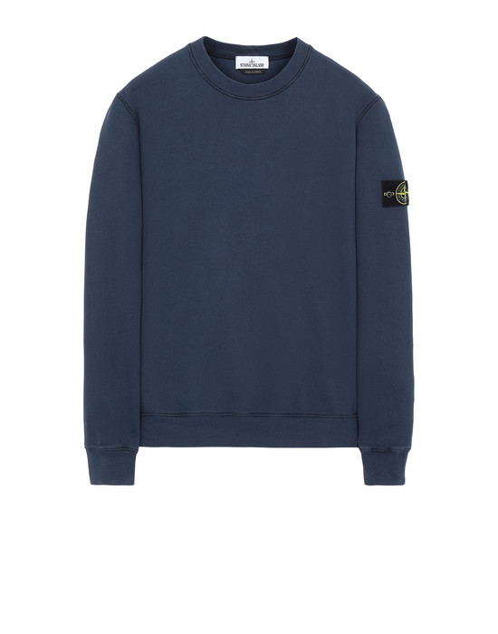 STONE ISLAND 63020 Sweatshirt Man Marine Blue