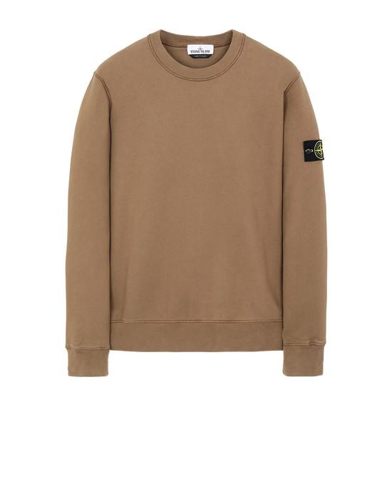 STONE ISLAND 63020 Sweatshirt Man Tobacco