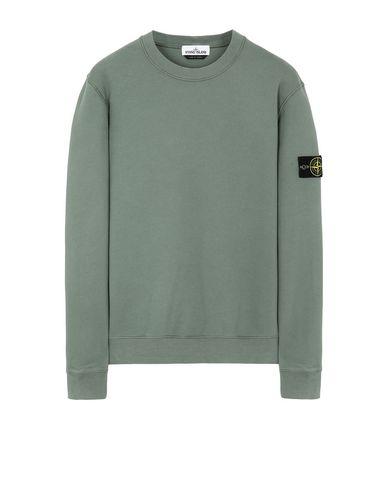 STONE ISLAND 63020 Sweatshirt Man Sage Green USD 185