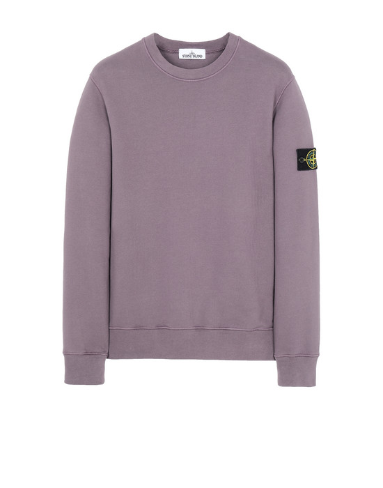 STONE ISLAND 63020 Sweatshirt Herr Magenta
