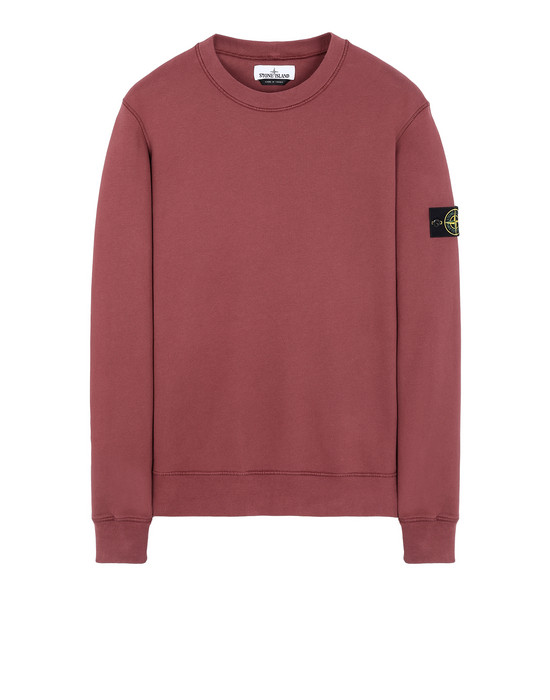 STONE ISLAND 63020 Sweatshirt Man Dark Burgundy