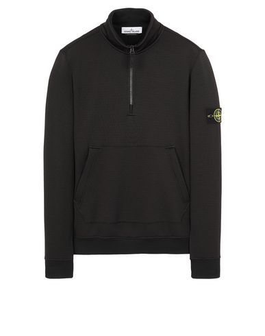 STONE ISLAND 63947 Sweatshirt Man Black USD 315