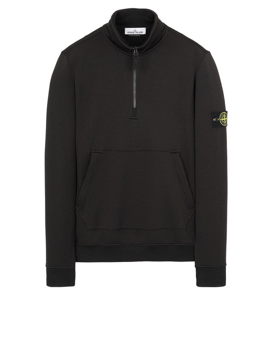 STONE ISLAND 63947 Sweatshirt Man Black