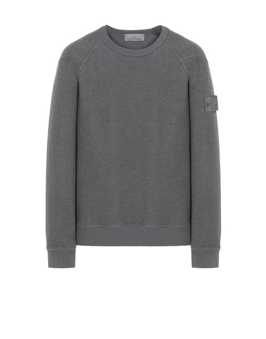 STONE ISLAND 654F5 GHOST PIECE Sweatshirt Man Dark Gray