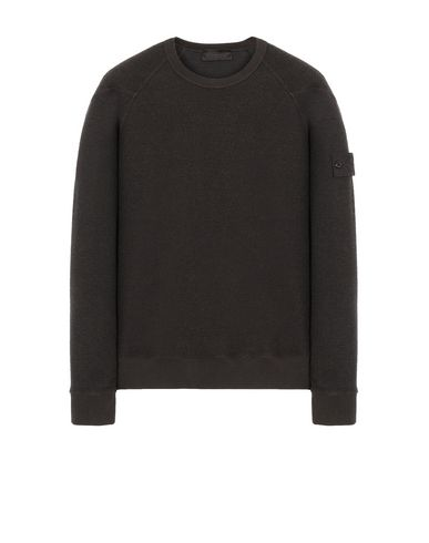 STONE ISLAND 654F5 GHOST PIECE Sweatshirt Man Dark Brown USD 249