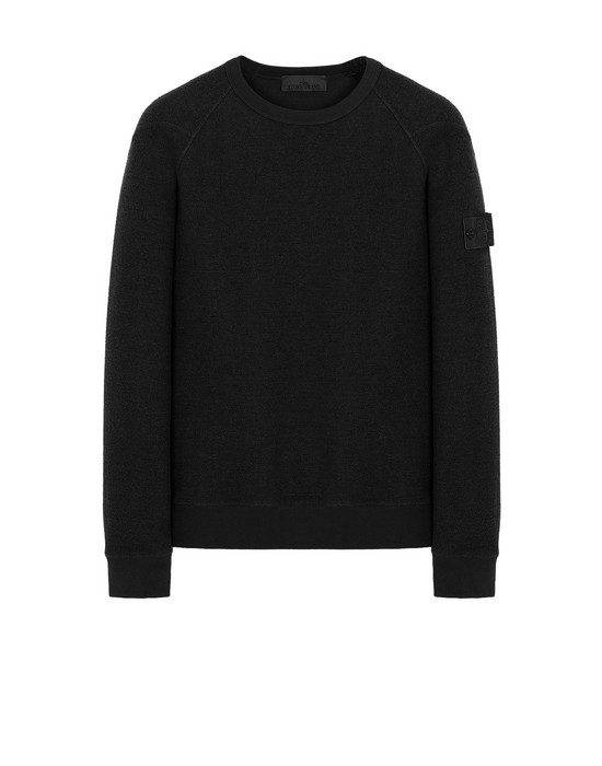 STONE ISLAND 654F5 GHOST PIECE Sweatshirt Man Black