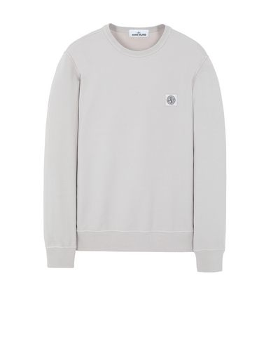STONE ISLAND 65037 Sweatshirt Man Dove Grey EUR 209