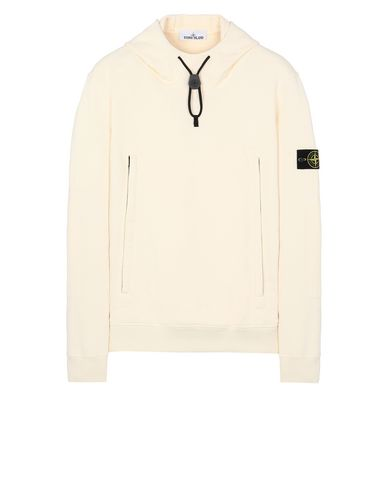 STONE ISLAND 60640 Sweatshirt Man Butter USD 274