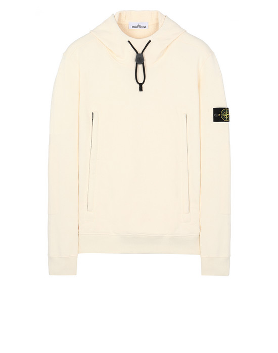 STONE ISLAND 60640 Sweatshirt Man Butter