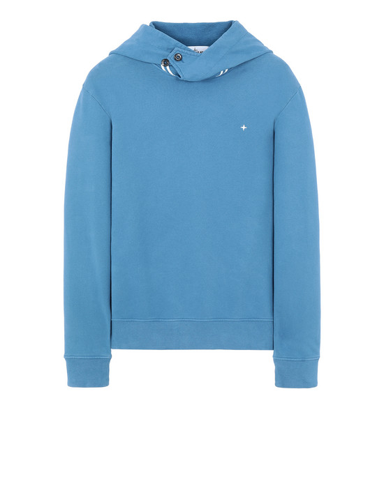 STONE ISLAND 60120 Sweatshirt Man Periwinkle