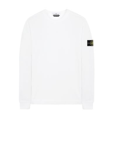 STONE ISLAND 64450 Sweatshirt Man White USD 230