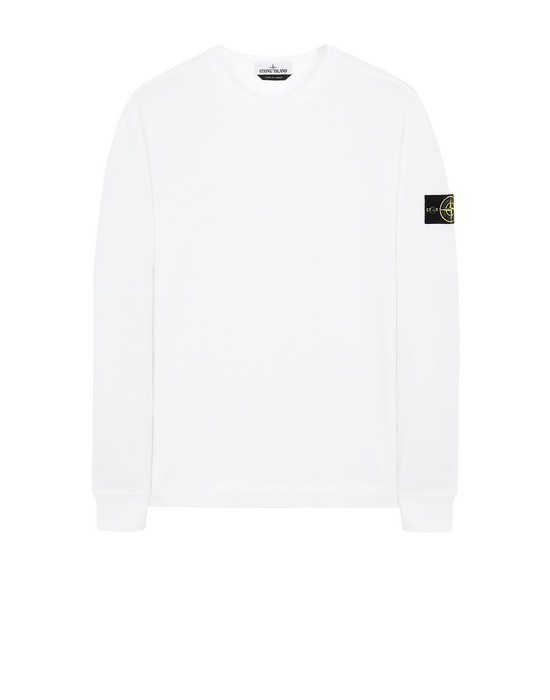 STONE ISLAND 64450 Sweatshirt Man White