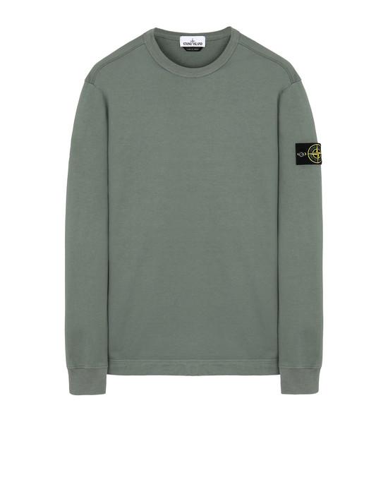 STONE ISLAND 64450 Sweatshirt Man Sage Green
