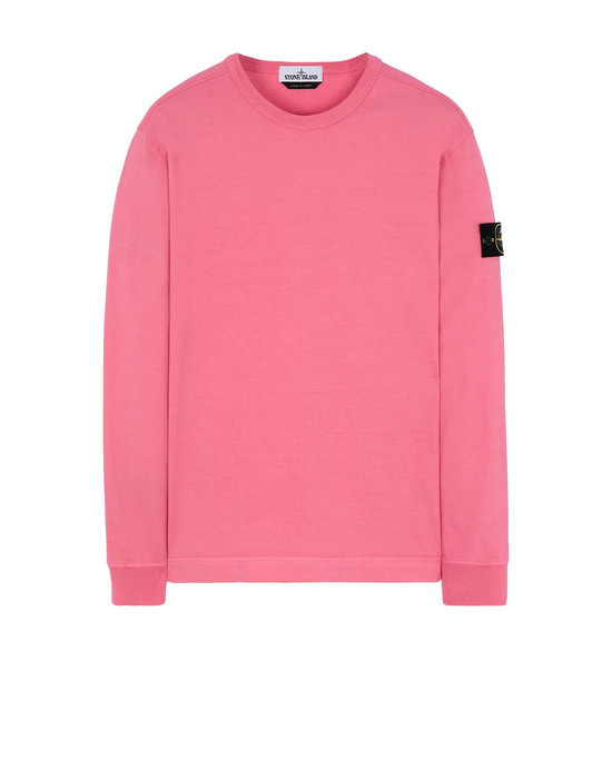 STONE ISLAND 64450 Sweatshirt Man Cyclamen