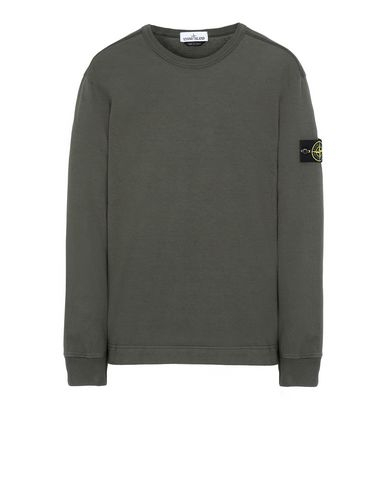 STONE ISLAND 64450 Sweatshirt Man Musk Green USD 242