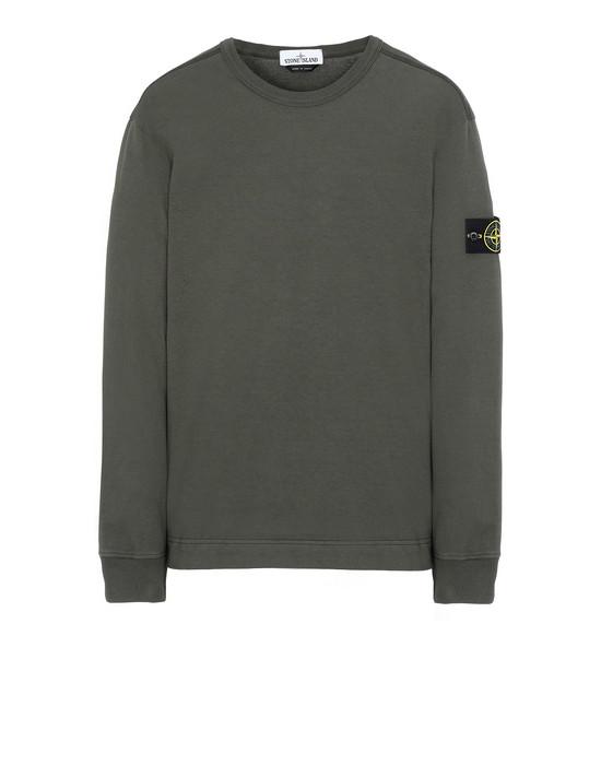 STONE ISLAND 64450 Sweatshirt Man Musk Green