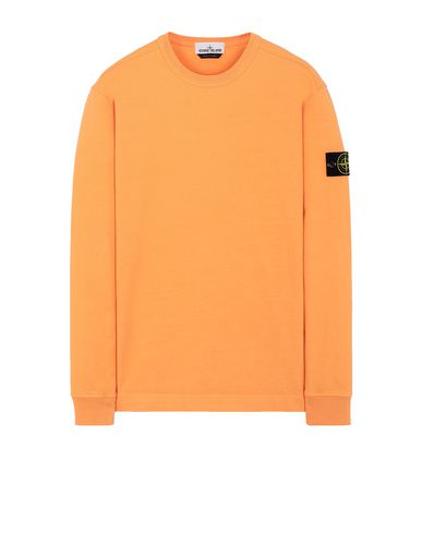 STONE ISLAND 64450 Sweatshirt Man Orange EUR 179