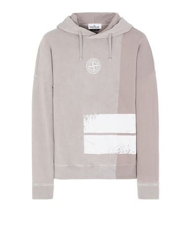 STONE ISLAND 61889 DUST TWO Sweatshirt Man Mud USD 314