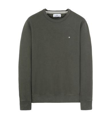 STONE ISLAND 60820 Sweatshirt Man Musk Green EUR 199