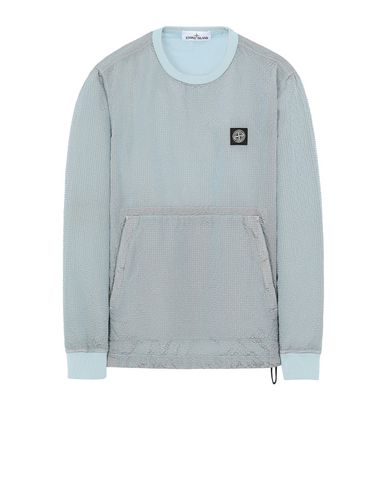 STONE ISLAND 62434 POLY-COLOUR FRAME-TC Sweatshirt Man Aqua EUR 244