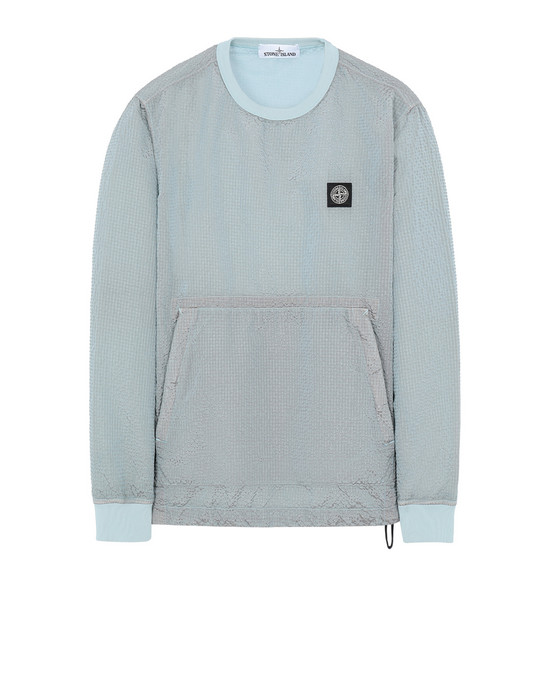 STONE ISLAND 62434 POLY-COLOUR FRAME-TC 卫衣 男士 水色