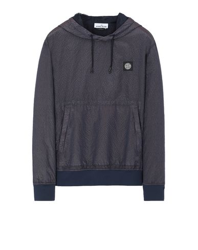 STONE ISLAND 63734 POLY-COLOUR FRAME-TC Sweatshirt Man Marine Blue EUR 429