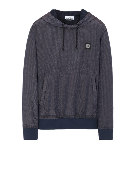 STONE ISLAND 63734 POLY-COLOUR FRAME-TC 스웻셔츠 남성 마린 블루