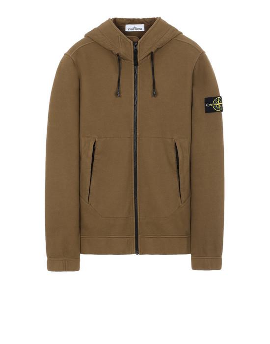STONE ISLAND 61420 Sweatshirt Man Tobacco