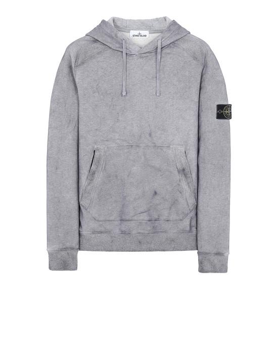 STONE ISLAND 62090 DUST COLOUR TREATMENT Sweatshirt Man MAGENTA MELANGE