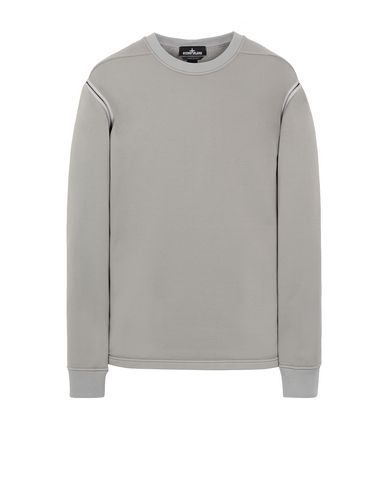 STONE ISLAND SHADOW PROJECT 60207 ENGINEERED PILL CREWNECK Sweatshirt Man Gray EUR 367