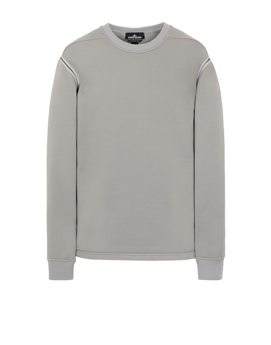 STONE ISLAND SHADOW PROJECT 60207 ENGINEERED PILL CREWNECK Sweatshirt Herr Grau