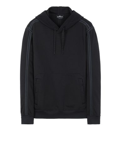 STONE ISLAND SHADOW PROJECT 60107 ENGINEERED PILL HOODIE  Sweatshirt Man Black USD 643