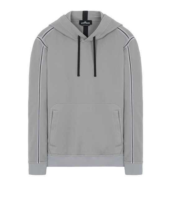 STONE ISLAND SHADOW PROJECT 60107 ENGINEERED PILL HOODIE  Sweatshirt Herr Grau