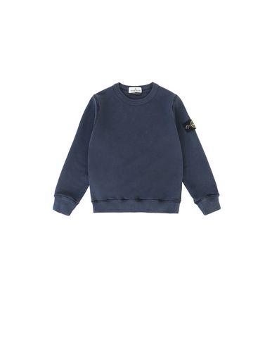 STONE ISLAND KIDS 61340 Sweatshirt Man Marine Blue USD 156