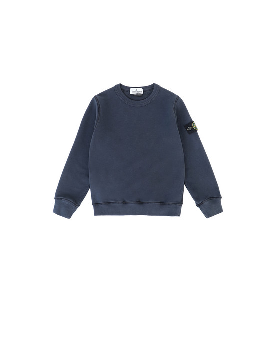 STONE ISLAND JUNIOR 61340 Sweatshirt Man Marine Blue