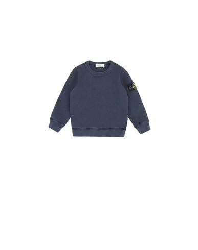 STONE ISLAND BABY 61340 Sweatshirt Man Marine Blue EUR 103