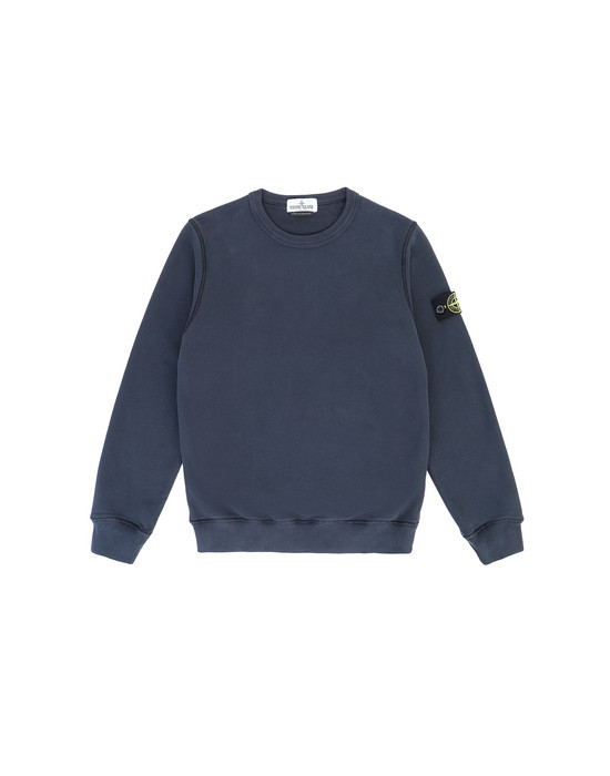 Sweatshirt Man 61340 Front STONE ISLAND JUNIOR