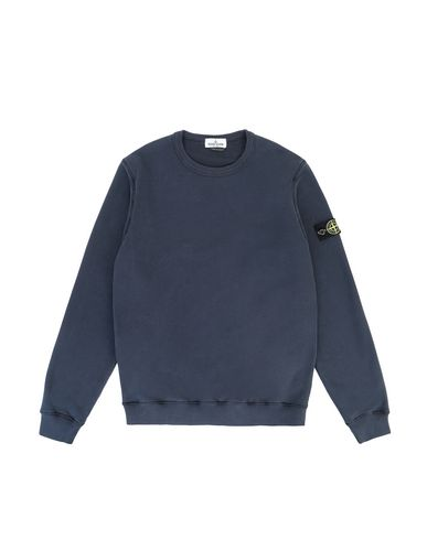 STONE ISLAND TEEN 61340 Sweatshirt Man Marine Blue USD 148