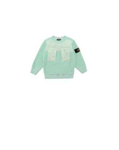 STONE ISLAND BABY 60544 Sweatshirt Man Light Green EUR 142