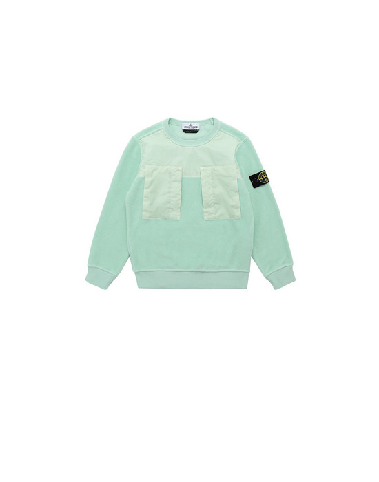 STONE ISLAND KIDS 60544 Sweatshirt Man Light Green