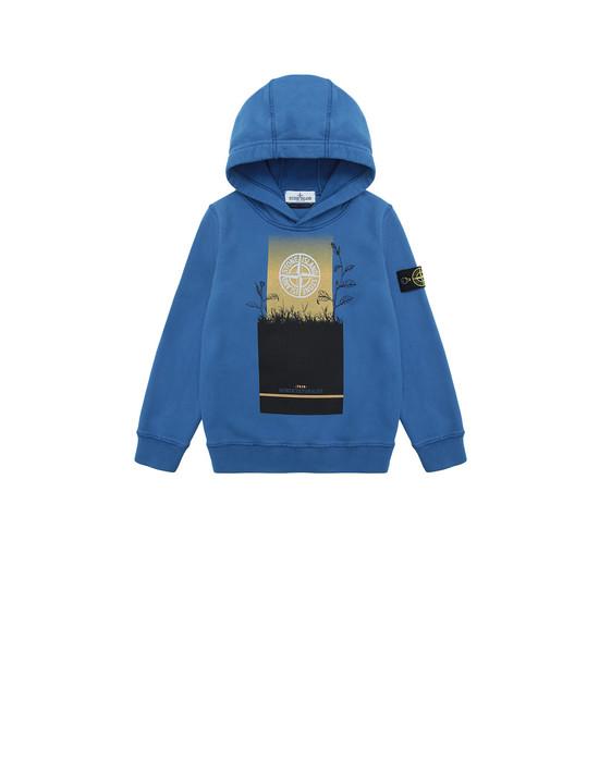 STONE ISLAND JUNIOR 61740 Sweatshirt Man Periwinkle