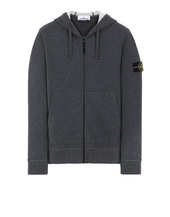 STONE ISLAND 64220 Sweatshirt Man DARK GRAY MELANGE