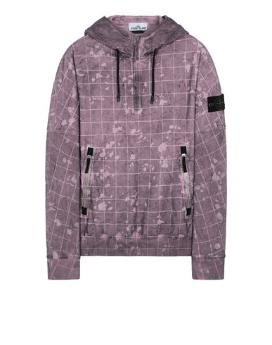 STONE ISLAND 626E2 DUST COLOUR WITH GHILLIE LASER CAMO Sweatshirt Man Magenta EUR 319