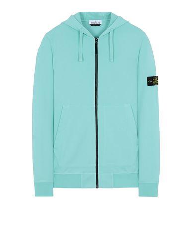 STONE ISLAND 64251 Sweatshirt Man Aqua EUR 269
