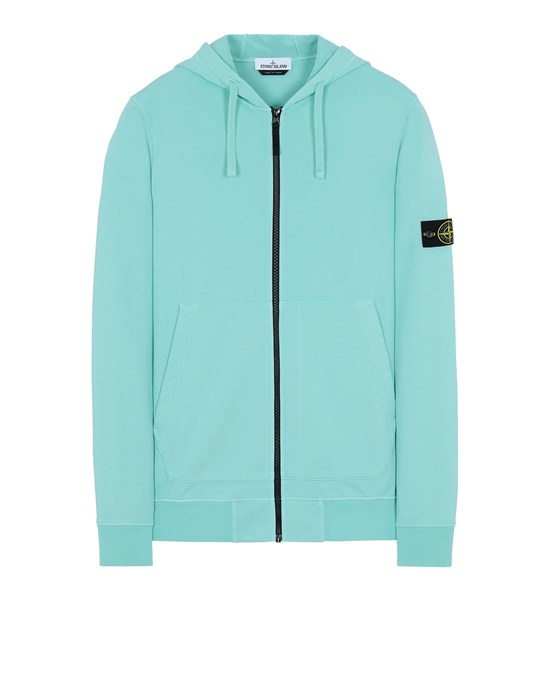 STONE ISLAND 64251 Sweatshirt Man Aqua